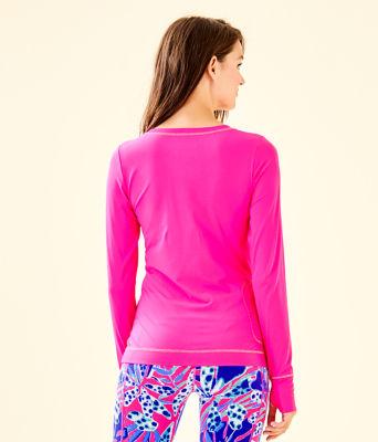UPF 50+ Luxletic Meryl Nylon Renay Sunguard, Bougainvillea Pink, large 1