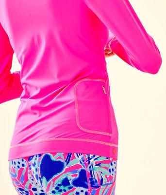 UPF 50+ Luxletic Meryl Nylon Renay Sunguard, Bougainvillea Pink, large 2