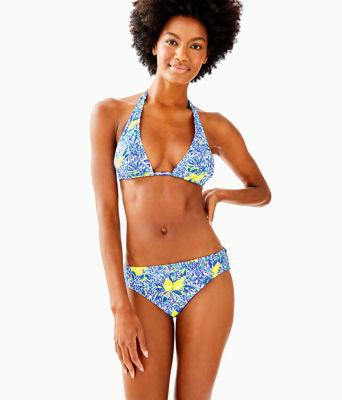 Blossom Bikini Bottom, Resort White Zest For Life Swim, large