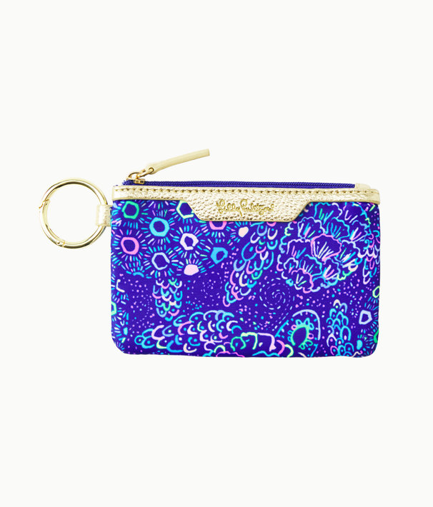 Key ID Card Case, Lapis Lazuli Take It Slow Accessories Small, large