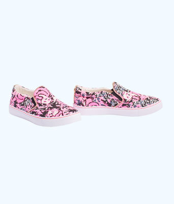 Julie Sneaker, Hibiscus Pink Hangin With My Boo Accessories Small, large 0