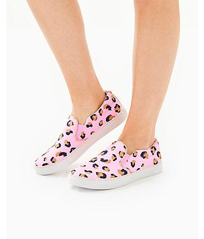 Julie Sneaker, Pink Blossom Seeing Spots, large 3