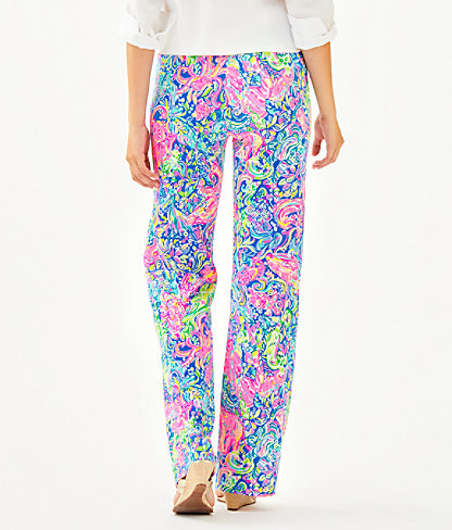 "33"" Georgia May Palazzo Pant, Multi Pop Up 60 Animals, large 1"