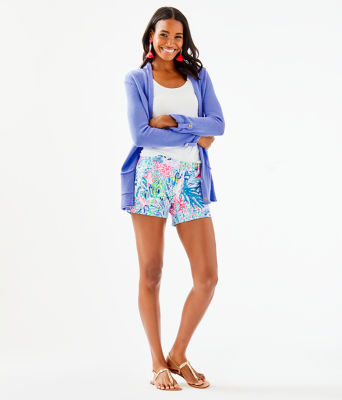 Cornet Cardigan, Blue Peri, large