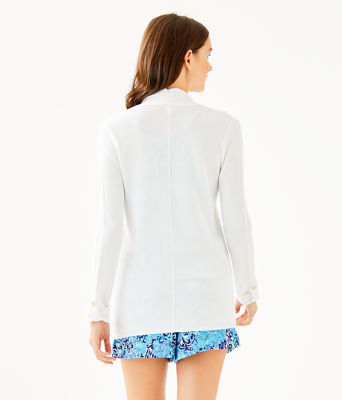 Cornet Cardigan, Resort White, large