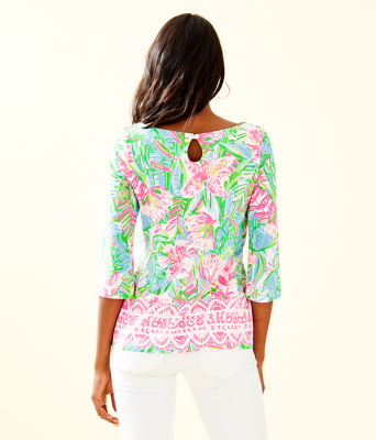 Waverly Top, Multi Pop Up Lilly Of The Jungle Reduced Engin, large