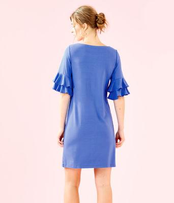 Lula Dress, Coastal Blue, large 1