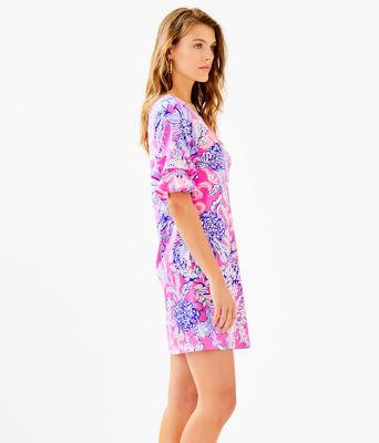 Lula Dress, Pink Tropics Sun Drenched, large 2