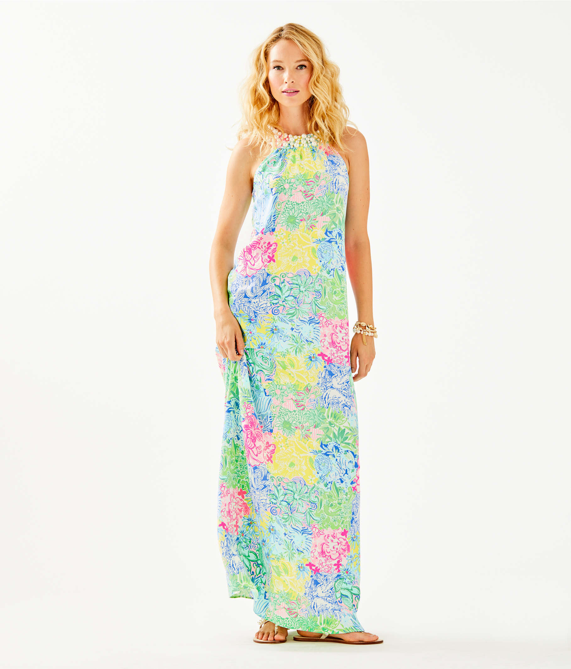 0f0e58ff84a198 ... Shawn Maxi Dress, Multi Cheek To Cheek, large ...