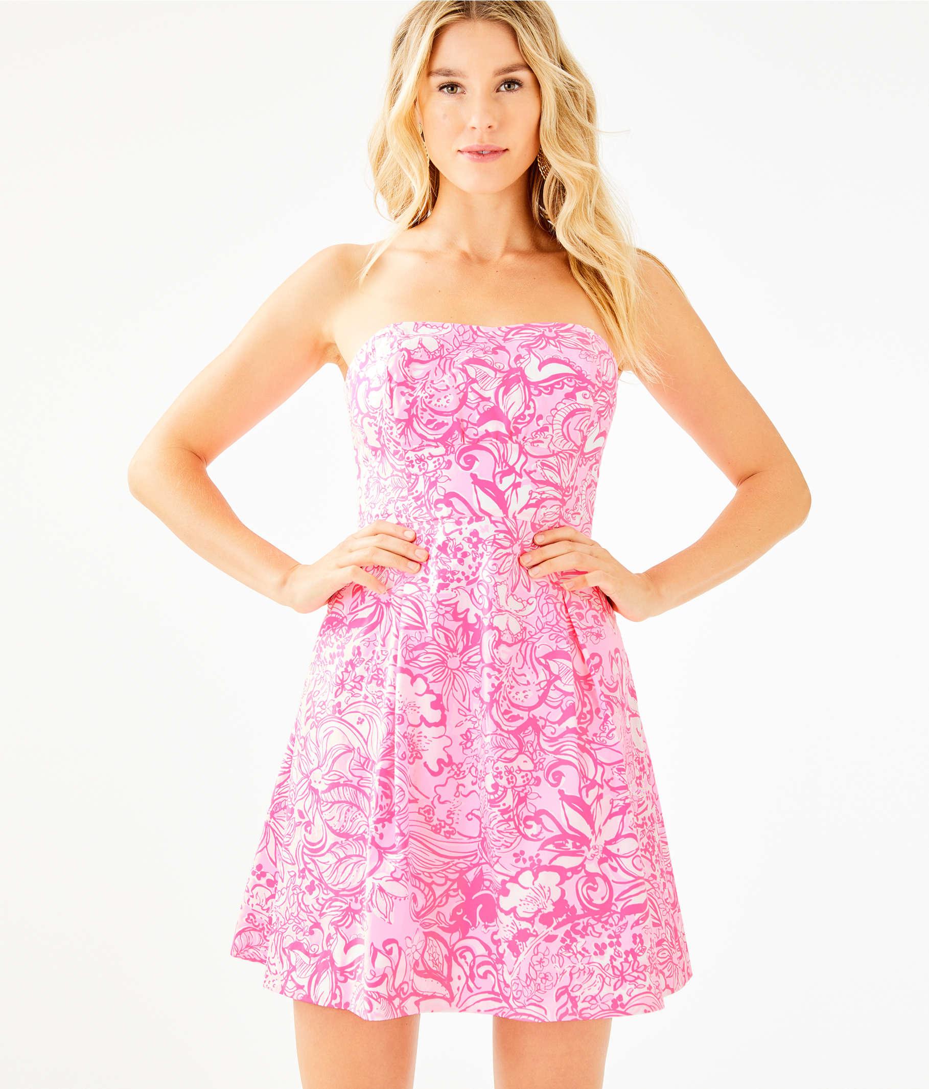 75659b9cd ... Blossom Dress, Pink Tropics Tint Bunny Hop, large ...