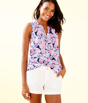 Essie Top, High Tide Navy Its For Shore, large