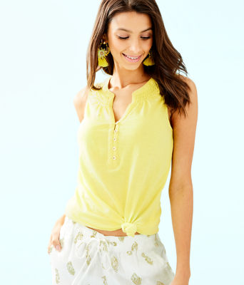 Essie Top, Watch Hill Yellow, large 0