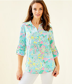 73820e28c48ae Women's Tunics & Shirts: Tops | Lilly Pulitzer