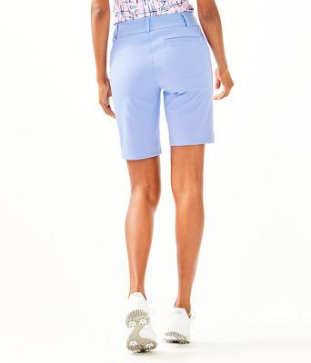 "UPF 50+ Luxletic 10"" Bettina Golf Short, Blue Peri, large 1"