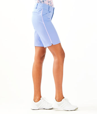 "UPF 50+ Luxletic 10"" Bettina Golf Short, Blue Peri, large 2"