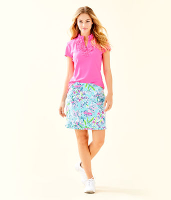 "17"" Monica Golf Skort - UPF 50+, Bali Blue Sway This Way, large 3"