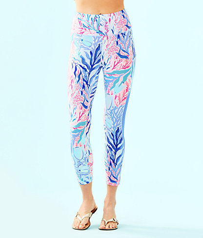 "Luxletic 24"" High Rise Weekender Midi Legging by Lilly Pulitzer"