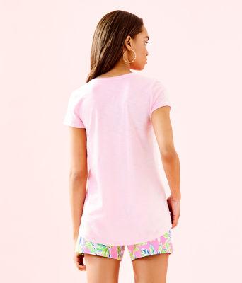 Etta Top, Pink Tropics Tint, large