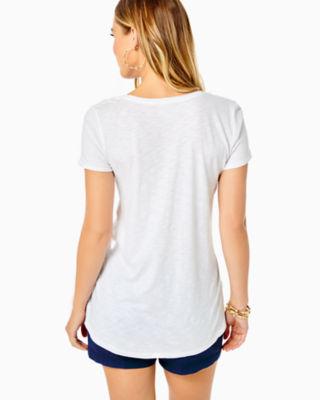 Etta Top, Resort White, large 1