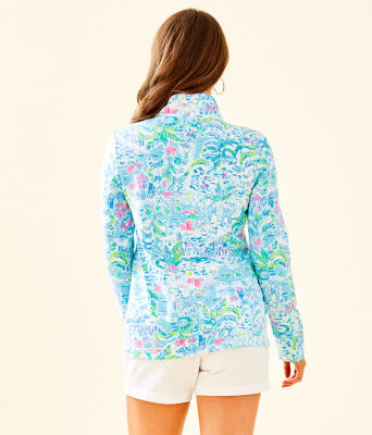 UPF 50+ Betsey Zip-Up, Multi What A Lovely Place, large