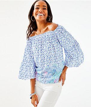 a62ddaa1d0bc Women's Tunics & Shirts: Tops | Lilly Pulitzer