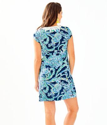 Madia Tunic Dress, High Tide Navy Scuba Doo, large 1