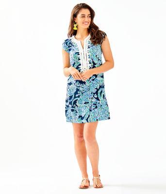 Madia Tunic Dress, High Tide Navy Scuba Doo, large 3