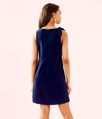 Penelope Shift Dress, True Navy, large 1