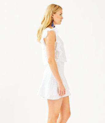 Alpinia Skirt Set, Resort White Fishy Eyelet, large 2