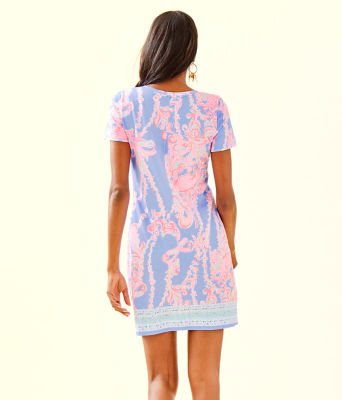 Declan Dress, Blue Peri Go With The Flow Engineered Knit Dress, large