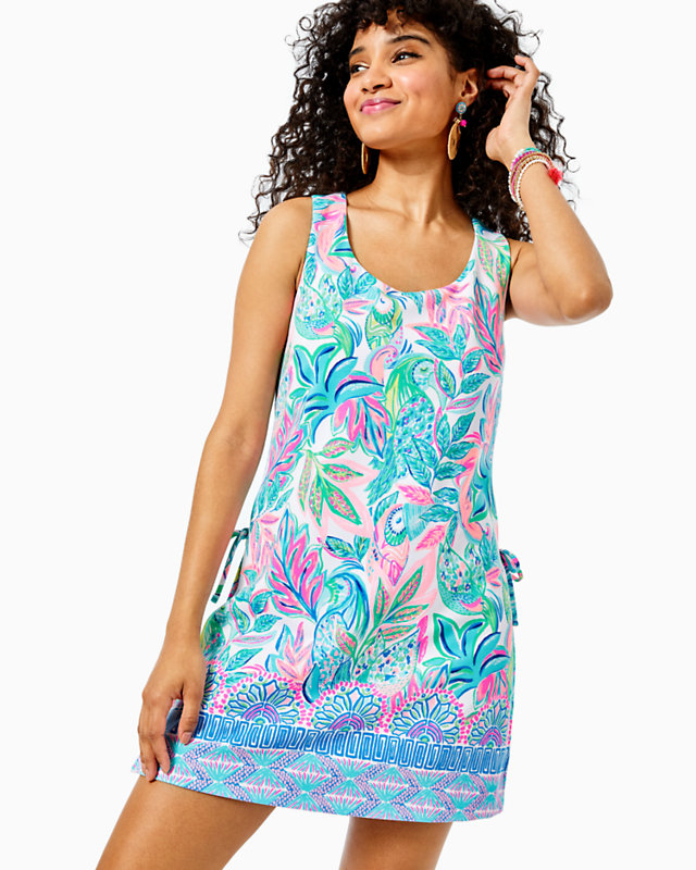 Sherrylily Women/'s Tie Up Playsuit Romper Adjustable One Piece Short Overall Jumpsuit Medium, Z-Blue