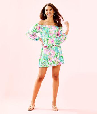 Lana Skort Romper, Multi Pop Up Lilly Of The Jungle, large