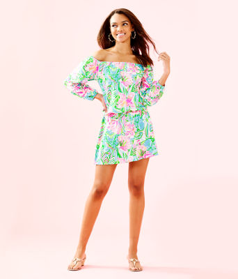 Lana Skort Romper, Multi Pop Up Lilly Of The Jungle, large 3
