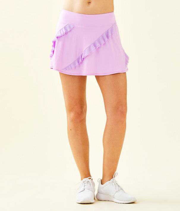 UPF 50+ Luxletic Genevieve Tennis Skort, Lilac Freesia, large