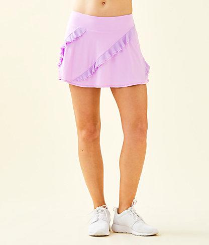UPF 50+ Luxletic Genevieve Tennis Skort, Lilac Freesia, large 0