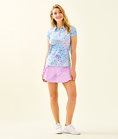 UPF 50+ Luxletic Genevieve Tennis Skort, Lilac Freesia, large 3