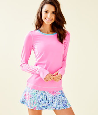 UPF 50+ Luxletic Renay Sunguard, Havana Pink, large