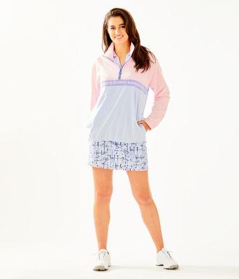 UPF 50+ Tee Time Jacket, Pink Tropics Tint, large 3
