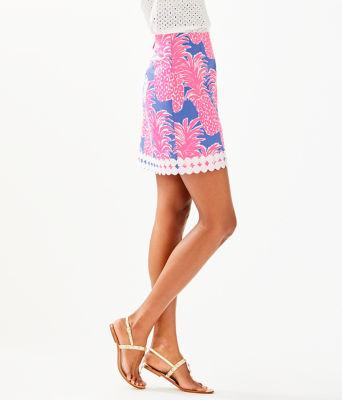 Izzy Skirt, Blue Haven Little Flamenco, large 2