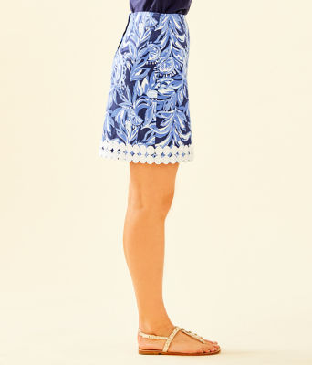 Izzy Skirt, High Tide Navy Youre The Zest, large