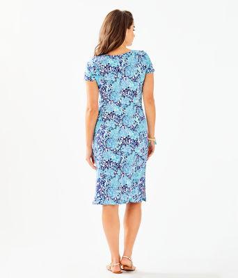Malin Midi Dress, Light Aqua Spritz, large 1
