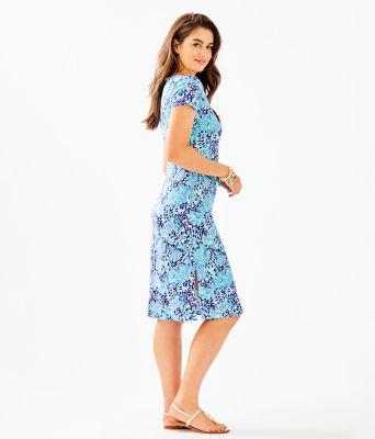 Malin Midi Dress, Light Aqua Spritz, large 2