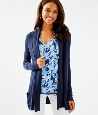 Adaira Cardigan, True Navy, large