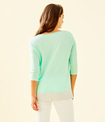 Dayna Sweater, Resort Aqua, large 1