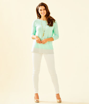 Dayna Sweater, Resort Aqua, large 2