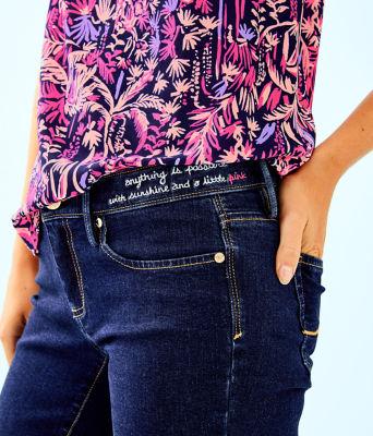 "31"" South Ocean Skinny Jean, Royal Palm Wash, large 3"