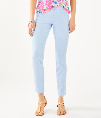 """29"""" Kelly Skinny Ankle Pant, Crew Blue Tint, large 0"""