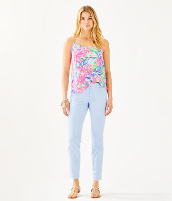 """29"""" Kelly Skinny Ankle Pant, Crew Blue Tint, large 3"""