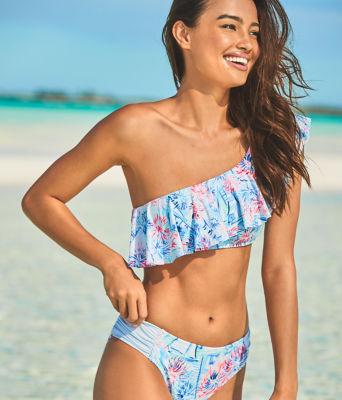 Novia Bikini Top, Crew Blue Tint Sea To Shining Sea, large