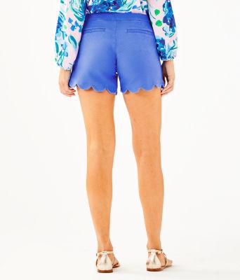 "5"" Buttercup Stretch Short, Coastal Blue, large 1"